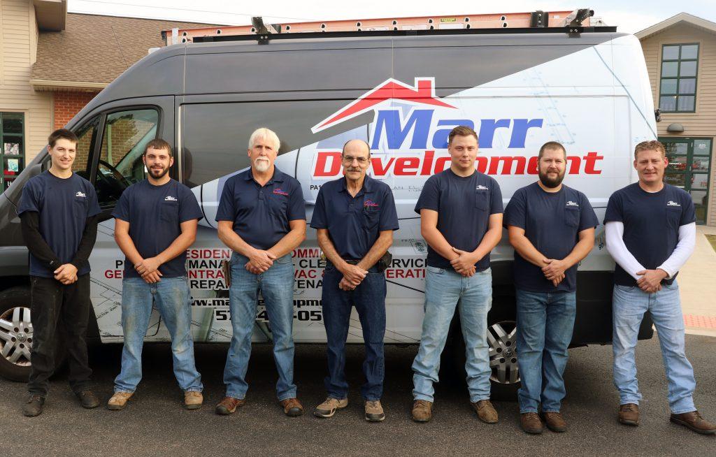 Marr Development Heating & Cooling Team